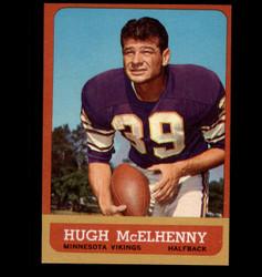 1963 HUGH MCELHENNY TOPPS #103 VIKINGS NM *7588