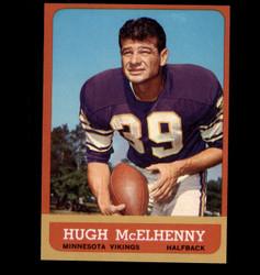 1963 HUGH MCELHENNY TOPPS #103 VIKINGS NM *1192