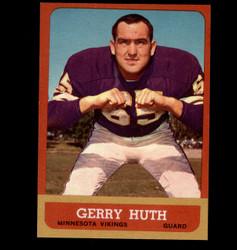 1963 GERRY HUTH TOPPS #104 VIKINGS NM *7669