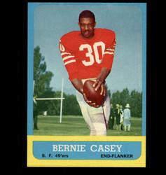 1963 BERNIE CASEY TOPPS #137 49'ERS NM *5421