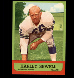 1963 HARLEY SEWELL TOPPS #29 LIONS NM *3791