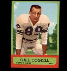 1963 GAIL COGDILL TOPPS #28 LIONS NM *5309