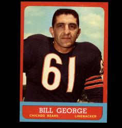 1963 BILL GEORGE TOPPS #70 BEARS NM *7758