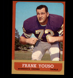 1963 FRANK YOUSO TOPPS #102 VIKINGS NM *7698