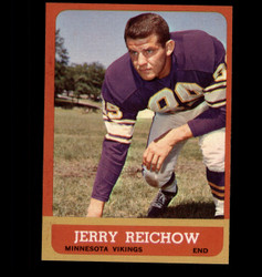 1963 JERRY REICHOW TOPPS #101 VIKINGS NM *4905
