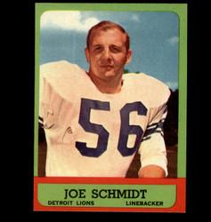 1963 JOE SCHMIDT TOPPS #35 LIONS EXMT/NM *7377