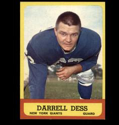 1963 DARRELL DESS TOPPS #54 GIANTS EXMT/NM *5540