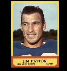 1963 JIM PATTON TOPPS #58 GIANTS EXMT/NM *7408