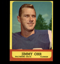 1963 JIMMY ORR TOPPS #3 COLTS EXMT/NM *8204