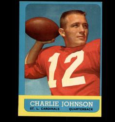 1963 CHARLIE JOHNSON TOPPS #146 CARDINALS EX/MT *6979