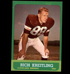 1963 RICH KREITLING TOPPS #16 BROWNS EX/MT *1699
