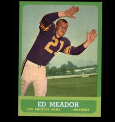 1963 ED MEADOR TOPPS #47 RAMS EX/MT *5780