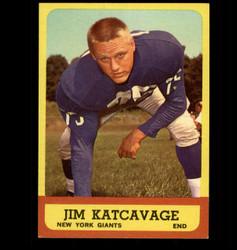 1963 JIM KATCAVAGE TOPPS #55 GIANTS EX/MT *6989