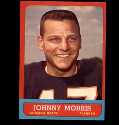 1963 JOHNNY MORRIS TOPPS #63 BEARS EX/MT *7199