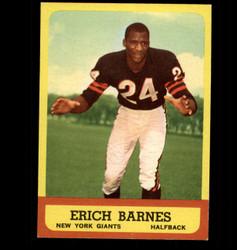 1963 ERICH BARNES TOPPS #57 GIANTS EX/MT *2230