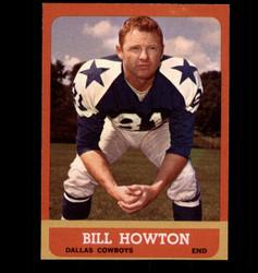 1963 BILL HOWTON TOPPS #77 COWBOYS EX/MT *1358