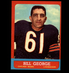 1963 BILL GEOGRE TOPPS #70 BEARS EX/MT *8576