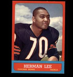 1963 HERMAN LEE TOPPS #67 BEARS EX/MT *8059