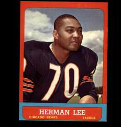 1963 HERMAN LEE TOPPS #67 BEARS EX/MT *7321