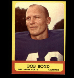 1963 BOB BOYD TOPPS #11 COLTS EX/MT *8150