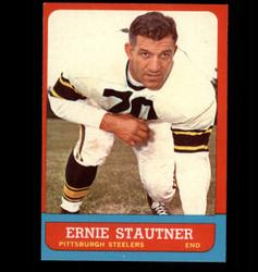 1963 ERNIE STAUTNER TOPPS #129 STEELERS EX/MT *4913