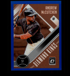 2018 ANDREW MCCUTCHEN DONRUSS OPTIC #24 BLUE PRIZM #/149 DIAMOND KINGS *7139