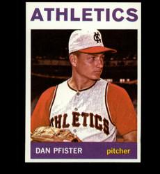 1964 DAN PFISTER TOPPS #302 ATHLETICS NM/MT *8896