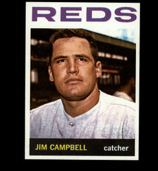 1964 JIM CAMPBELL TOPPS #303 REDS NM *3245