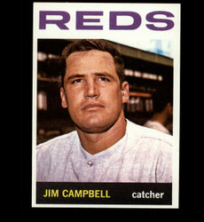 1964 JIM CAMPBELL TOPPS #303 REDS NM/MT *4818