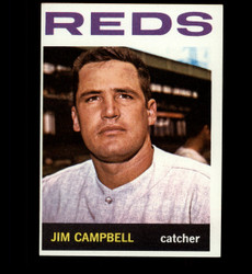 1964 JIM CAMPBELL TOPPS #303 REDS NM/MT *5620