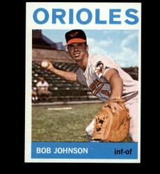1964 BOB JOHNSON TOPPS #304 ORIOLES NM/MT *5586