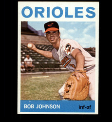 1964 BOB JOHNSON TOPPS #304 ORIOLES NM/MT *5360