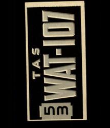 1953 TOPPS LICENSE PLATE #61 AUSTRALIA *8481