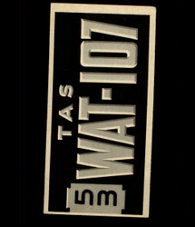 1953 TOPPS LICENSE PLATE #61 AUSTRALIA *6760
