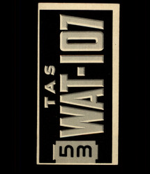 1953 TOPPS LICENSE PLATE #61 AUSTRALIA *2417