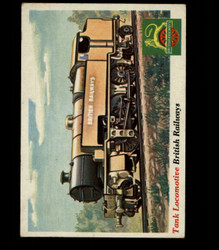 1955 TOPPS RAILS AND SAILS #19 TANK LOCOMOTIVE *R1003