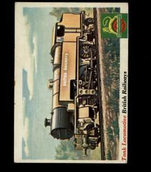 1955 TOPPS RAILS AND SAILS #19 TANK LOCOMOTIVE *R1002