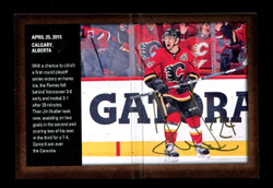 2015 JIRI HUDLER SP AUTHENTIC MOMENTS BOOKLET AUTO