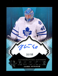 2012 JUSSI RYNNAS UD ULTIMATE COLLECTION #/99 ROOKIE AUTO *5706