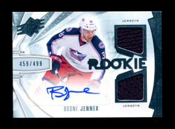 2013 BOONE JENNER SPX DUAL JERSEY #/499 AUTO *1162