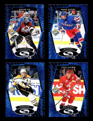 1998 UD CHOICE STARQUEST HOCKEY 30 CARD COMPLETE BLUE SET *1211