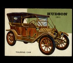 1954 WORLD ON WHEELS TOPPS # 72 HUDSON TOURING CAR *R1258