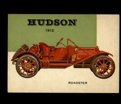 1954 WORLD ON WHEELS TOPPS #128 HUDSON ROADSTER *R1281