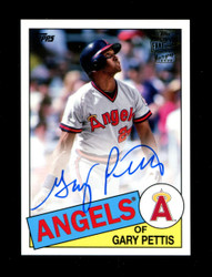 2018 GARY PETTIS TOPPS ARCHIVES FAN FAVORITES AUTO ANGELS *R1318