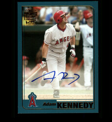 2018 ADAM KENNEDY TOPPS ARCHIVES FAN FAVORITES ANGELS AUTO *8939