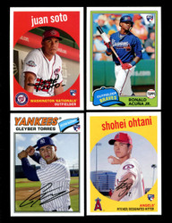 2018 TOPPS ARCHIVES BASEBALL COMPLETE SET 1-361 INC. INSERTS SOTO ACUNA OHTANI