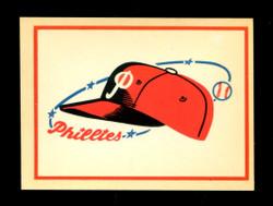1961 PHILADELPHIA PHILLIES FLEER TEAM LOGO DECALS *7589