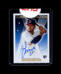 2018 FRANCISCO MEJIA TOPPS ARCHIVES COMING ATTRACTION ROOKIE AUTO *3205