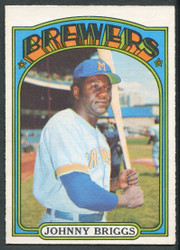 1972 JOHNNY BRIGGS OPC #197 O PEE CHEE BREWERS NM #2373