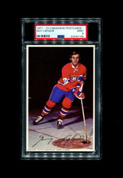 1971 GUY LAFLEUR MONTREAL CANADIENS POSTCARDS ROOKIE PSA 9